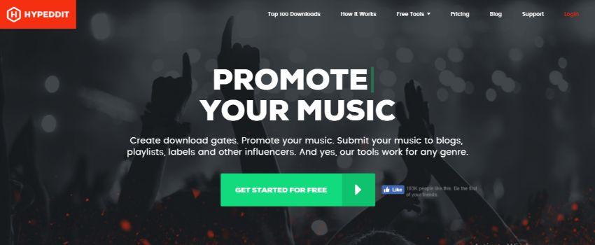 HYPEDDIT website