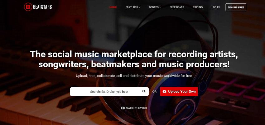 Beatstars website
