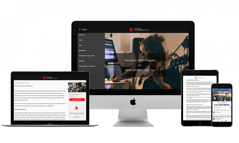 New Artist Models Music Business Accelerator review