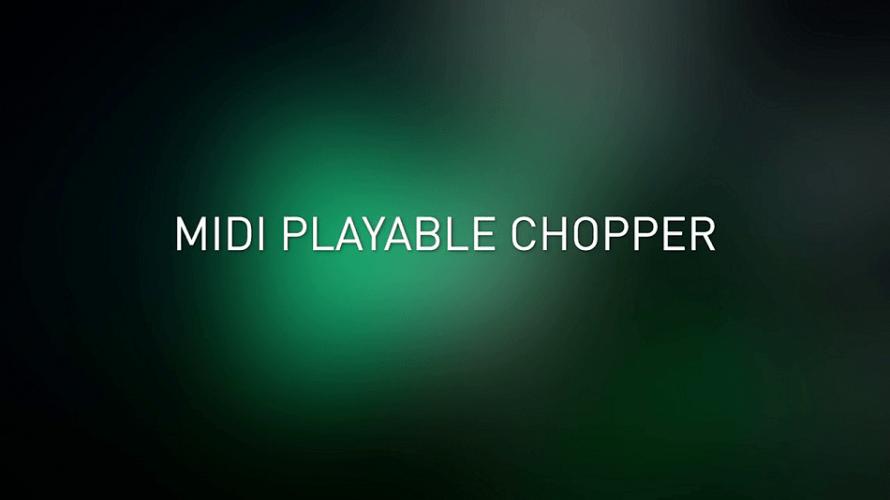 acid pro 9 midi playable chopper