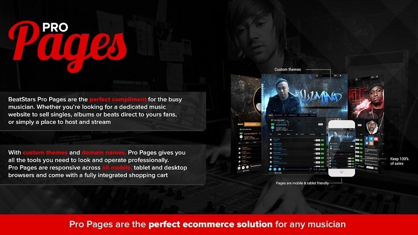 beatstars pro pages