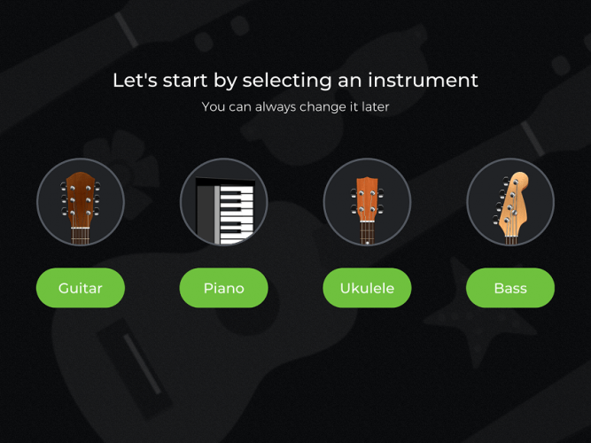 yousician pick_an_instrument