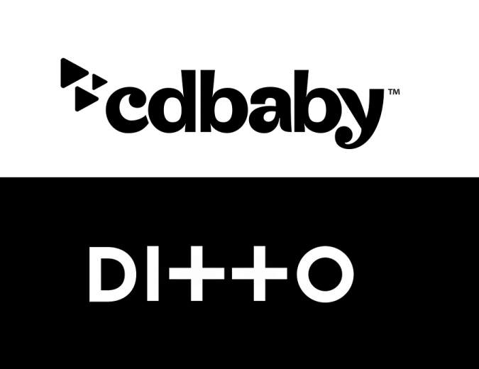 cd baby vs ditto