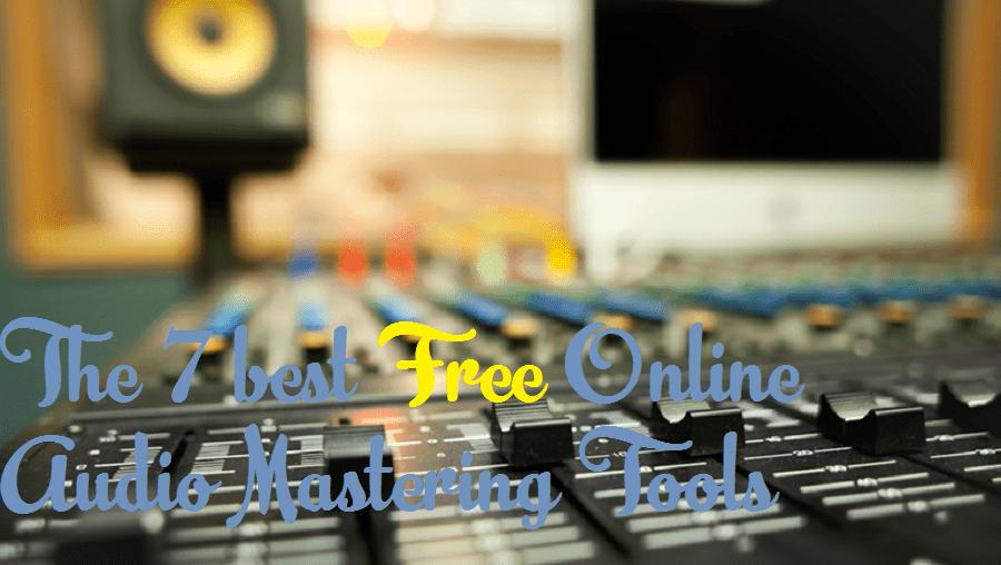 free audio mastering tools