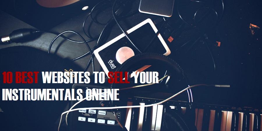 sell instrumentals online