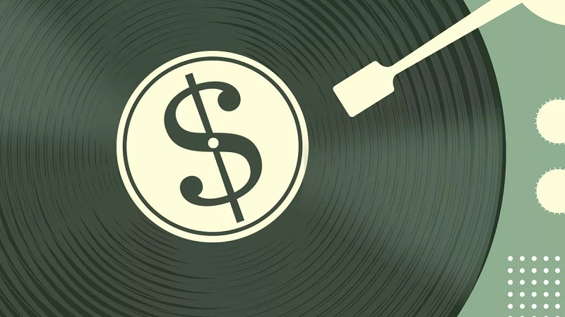 music industry money
