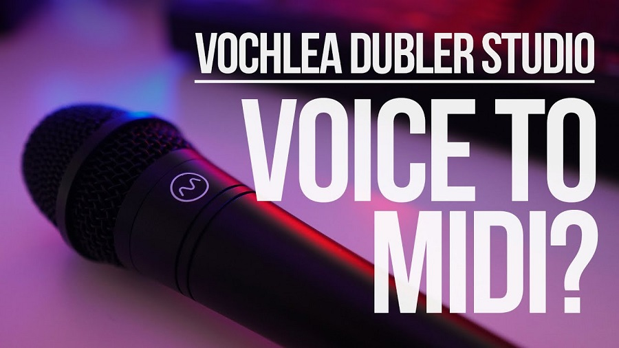 vochlea dubler voice to midi
