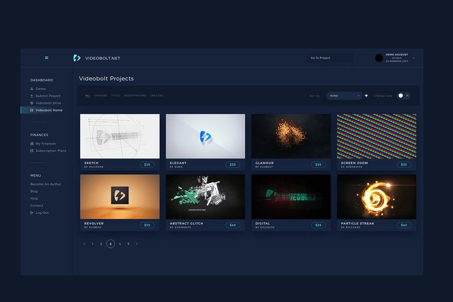 videobolt projects